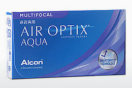 Kontaktné šošovky Alcon AIR OPTIX AQUA MULTIFOCAL (AIR OPTIX AQUA MULTIFOCAL AOM6H)