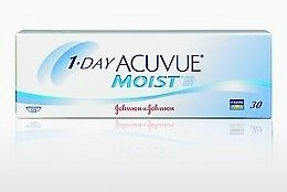 Kontaktné šošovky Johnson & Johnson 1 DAY ACUVUE MOIST 1DM-90P-REV