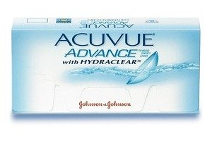 Johnson & Johnson ACUVUE ADVANCE with HYDRACLEAR AVG-6P-REV