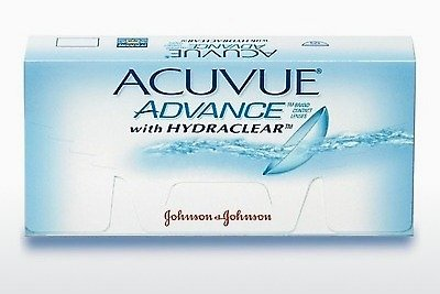 Kontaktné šošovky Johnson & Johnson ACUVUE ADVANCE with HYDRACLEAR AVG-6P-REV