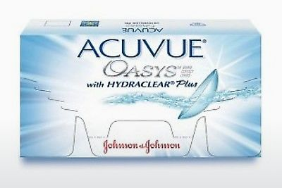 Kontaktné šošovky Johnson & Johnson ACUVUE OASYS with HYDRACLEAR Plus PH-12P-REV