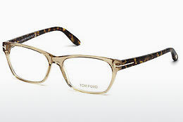 Okuliare Tom Ford FT5405 045 - Hnedá, Bright, Shiny