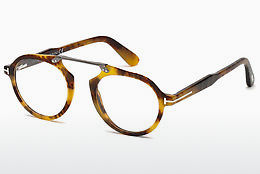 Okuliare Tom Ford FT5494 055 - Multi-coloured, Hnedá, Havanna