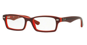 Ray-Ban Junior RY1530 3664 TOP RED ON RED FLUO