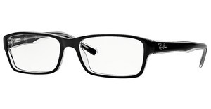 Ray-Ban RX5169 2034 TOP BLACK ON TRANSPARENT