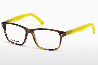 Okuliare Dsquared DQ5200 055 - Multi-coloured, Hnedá, Havanna