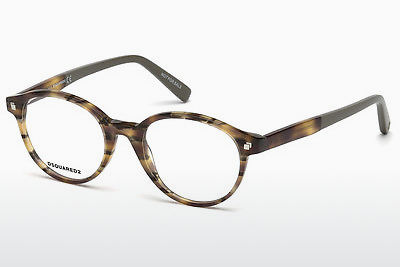 Okuliare Dsquared DQ5227 053 - Havanna, Yellow, Blond, Brown
