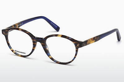 Okuliare Dsquared DQ5227 055 - Multi-coloured, Hnedá, Havanna