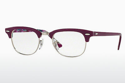Okuliare Ray-Ban CLUBMASTER (RX5154 5652) - Purpurová, Patterned