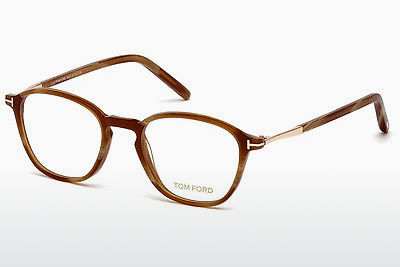 Okuliare Tom Ford FT5397 062 - Hnedá, Horn, Ivory