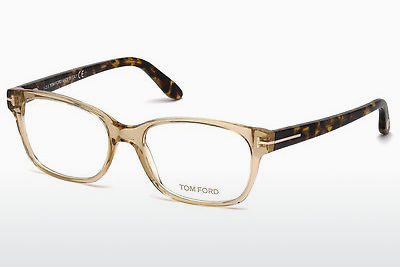 Okuliare Tom Ford FT5406 045 - Hnedá, Bright, Shiny