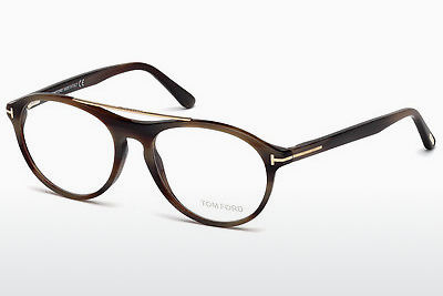 Okuliare Tom Ford FT5411 062 - Hnedá, Horn, Ivory