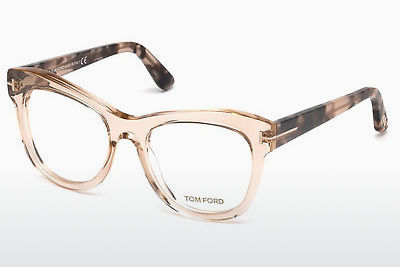 Okuliare Tom Ford FT5463 045 - Hnedá, Bright, Shiny
