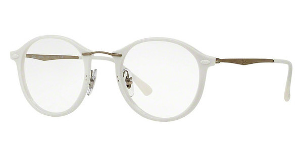 Ray-Ban RX7073 5618 SHINY WHITE