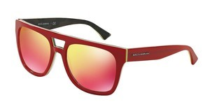 Dolce & Gabbana DG4255 29606Q RED MULTILAYERRED/FLUO YELLOW/CAMO