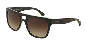 Dolce & Gabbana DG4255 296113 BROWN GRADIENTHAVANA/YELLOW FLUO/CAMO