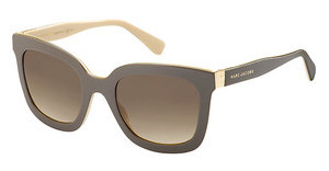 Marc Jacobs MJ 560/S LFI/JD BROWN SFBRW CREAM (BROWN SF)
