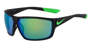 Nike NIKE IGNITION R EV0867 003 MATTE BLACK/POISON GREEN WITH GREY W/ML GREEN FLASH LENS LENS