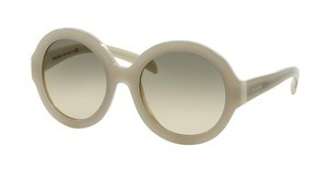 Prada PR 06RS TKO3H2 LIGHT BROWN GRAD LIGHT GREENOPAL IVORY/MATTE IVORY