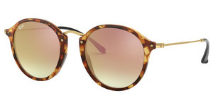 Ray-Ban RB2447 11607O COPPER FLASH GRADIENTSPOTTED BROWN HAVANA
