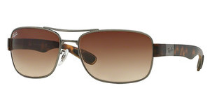 Ray-Ban RB3522 029/13 GRADIENT BROWNGUN METAL MATTE