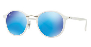 Ray-Ban RB4242 671/55 GREEN MIRROR BLUESHINY WHITE