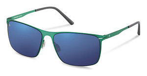 Rodenstock R1403 D blue mirror - 88%green satin