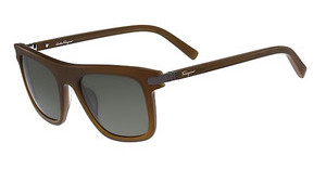Salvatore Ferragamo SF785S 220 BROWN OLIVE MATTE