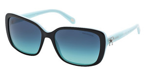 Tiffany TF4092 80554S AZURE GRADIENT BLUEBLACK/BLUE