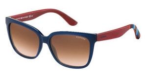 Tommy Hilfiger TH 1312/S X2D/A5 BLAUBLREDWOOD (BLAU)