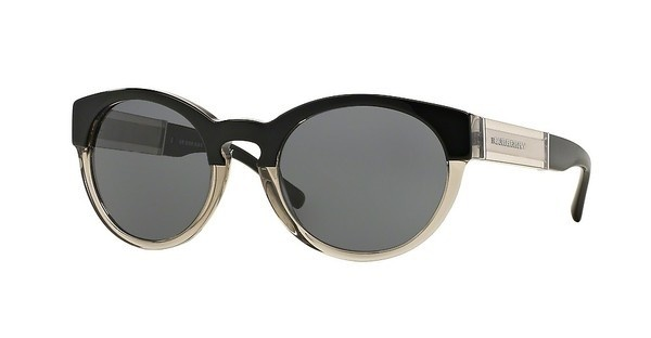 Burberry BE4205 355887 GREYTOP BLACK ON GREY
