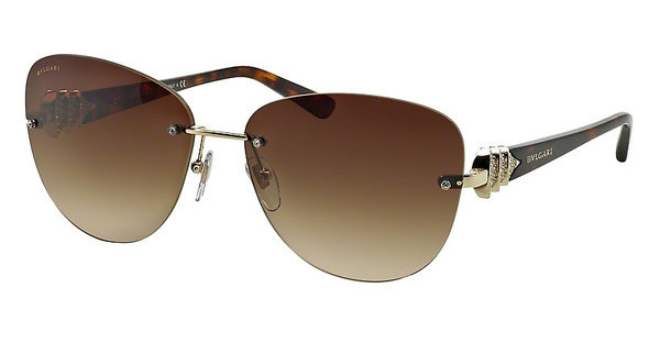 Bvlgari BV6072B 278/13 BROWN GRADIENTPALE GOLD