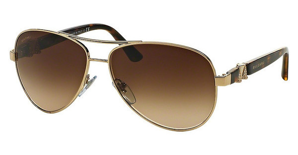 Bvlgari BV6080B 278/13 BROWN GRADIENTPALE GOLD