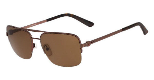 Calvin Klein CK8001S 223 BROWN