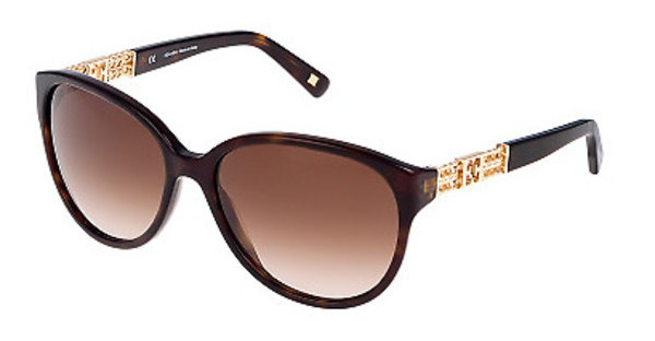 Escada SES352 0722 BROWN GRADIENTSHINY DARK HAVANA