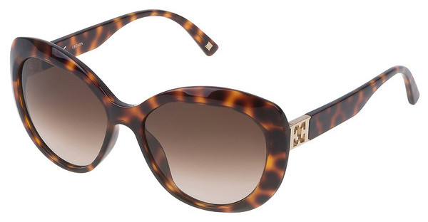 Escada SES397 0748 BROWN GRADIENTAVANA SCURA MACULATA ARANCIO