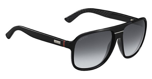 Gucci GG 1076/N/S D28/9O DARK GREY SFSHN BLACK (DARK GREY SF)