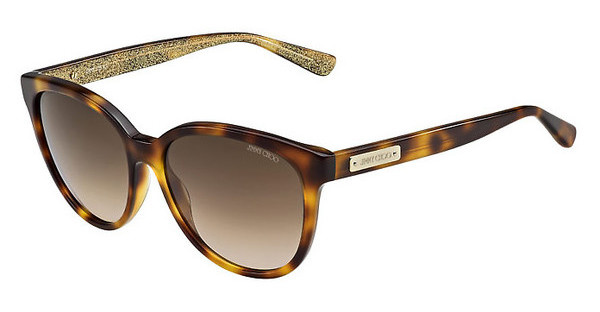 Jimmy Choo LUCIA/S EHO/JD BROWN SFHV GLTTGD (BROWN SF)