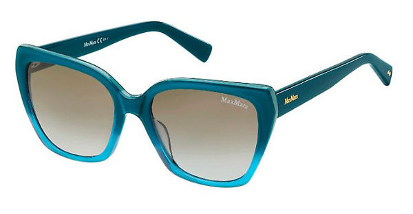 Max Mara MM SHADED I FSA/YE GREY SFBLUE TEAL (GREY SF)