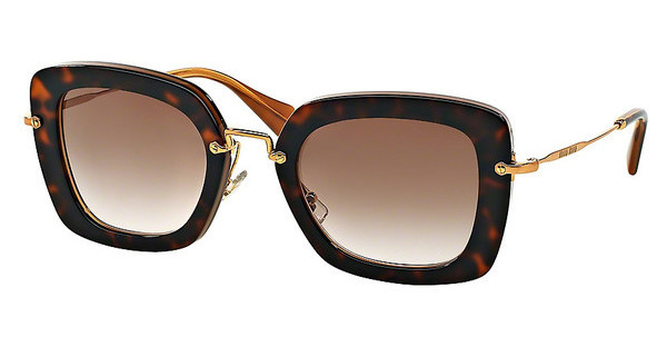 Miu Miu   MU 07OS KAZ0A6 BROWN GRADIENTTOP HAVANA ON OPAL