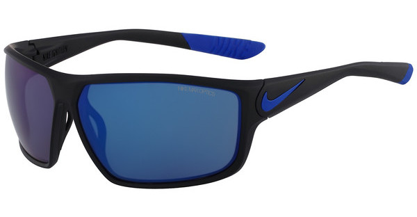Nike NIKE IGNITION R EV0867 004 MATTE BLACK/GAME ROYAL WITH GREY W/BLUE NIGHT FLASH LENS LENS