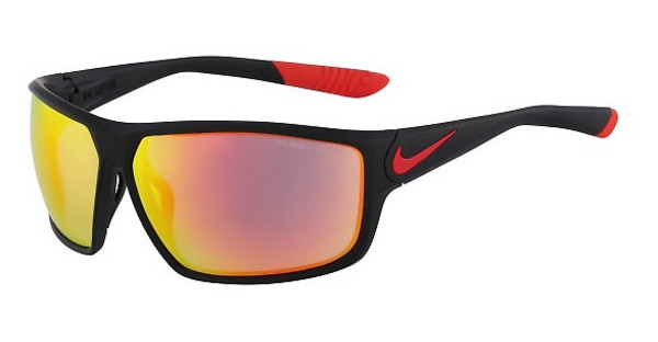 Nike NIKE IGNITION R EV0867 006 MATTE BLACK/CHALLENGE RED WITH GREY W/ML RED FLASH LENS LENS
