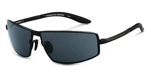 Porsche Design P8417 D grey blue + extra lens grey gradient, s.m.black mat