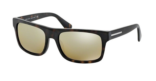 Prada   PR 18PS HAQ6S1 BROWN MIRROR GRADIENT GREYMATTE HAVANA
