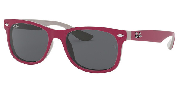 Ray-Ban Junior RJ9052S 177/87 GREYTOP RED FUXIA ON GRAY