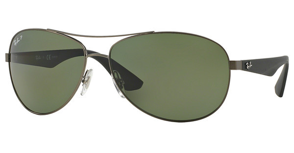 Ray-Ban RB3526 029/9A POLAR DARK GREENMATTE GUNMETAL