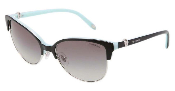 Tiffany TF4080 80553C GRAY GRADIENTBLACK/BLUE